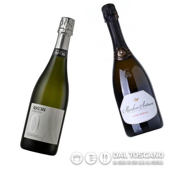Bottiglie vino spumante per capodanno