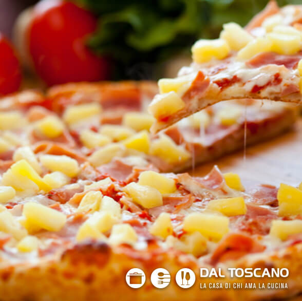 pizza hawaii _ dal toscano