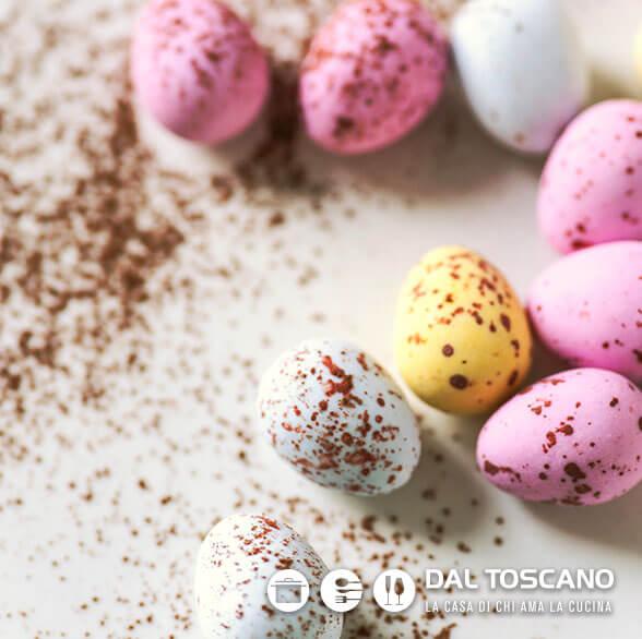 ometti di cioccolato per Pasqua