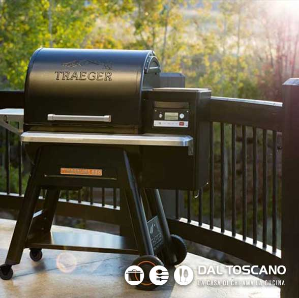 barbecue a pellet TRAEGER