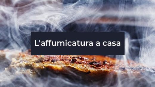 l'affumicatura in casa