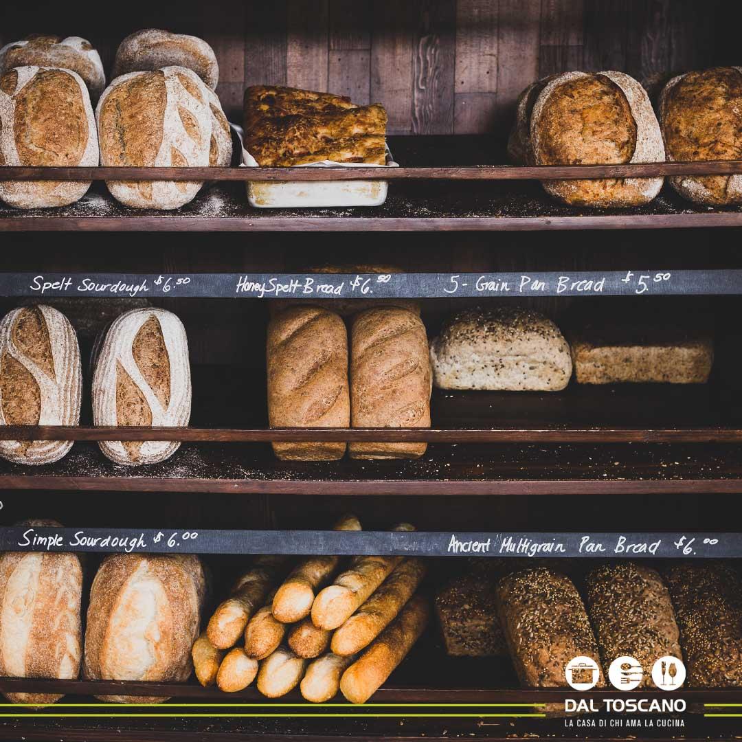 Pane fatto in casa come dal fornaio