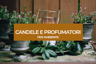 candele e profumatori per ambiente