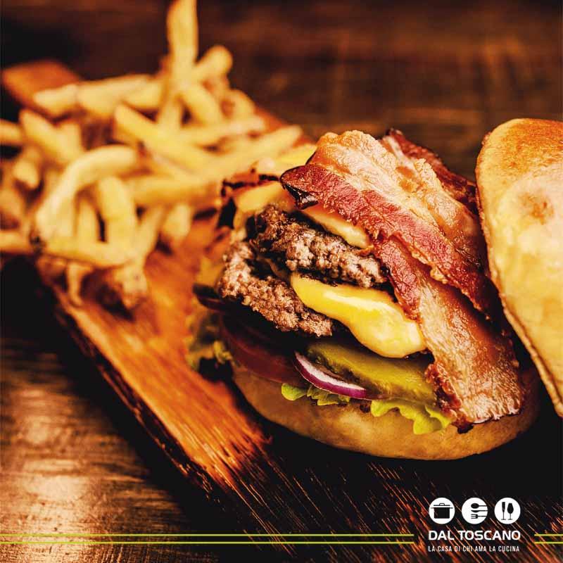 ricetta hamburger Alessandro Borghese Black Angus Burger