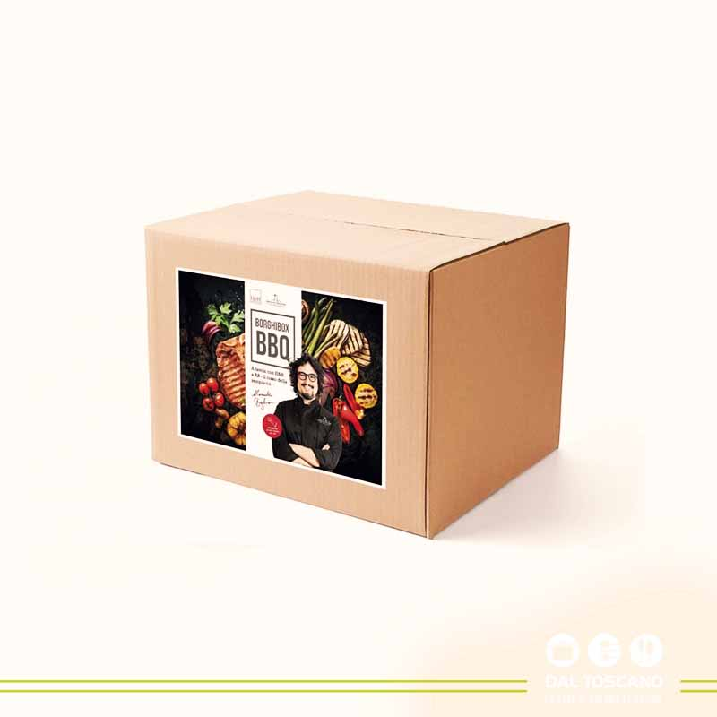 kit hamburger BorghiBox BBQ H&H Alessandro Borghese