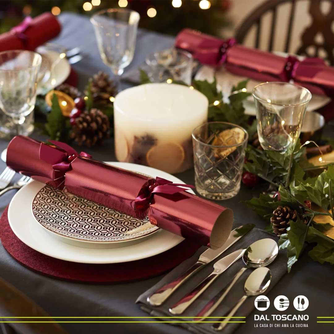 prodotti natalizi per apparecchiare la tavola a Natale