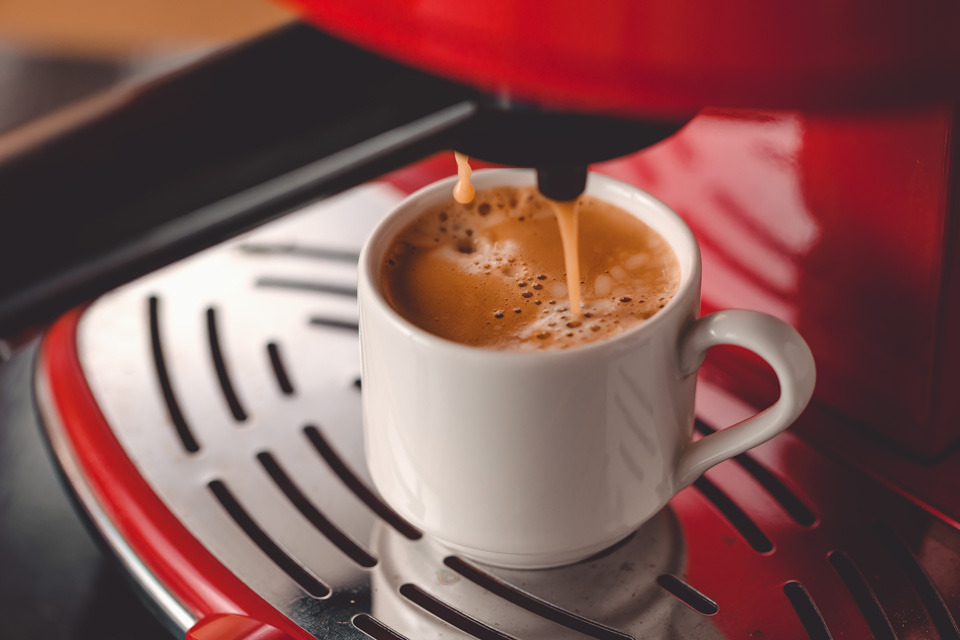 caffè espresso doppio