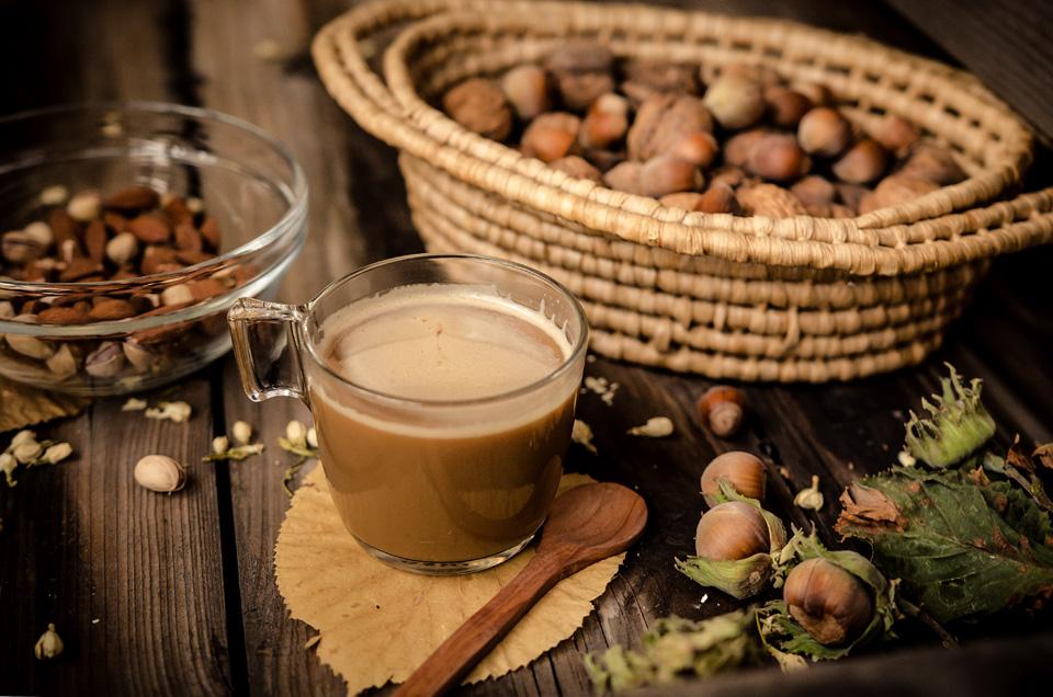 caffè aromatizzato alla nocciola